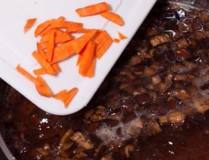 Суп из консервированных грибов   - фото шаг 8