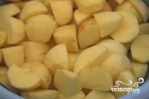 Картофель с баклажанами по-китайски - фото шаг 1
