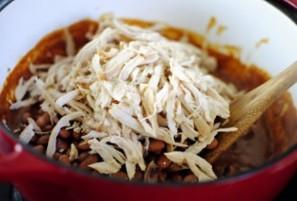 Курица с чили и фасолью - фото шаг 5
