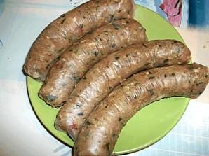 Домашняя колбаса в духовке - фото шаг 5