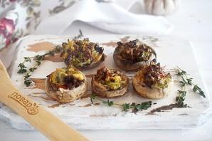 Вегетарианские фаршированные грибочки - фото шаг 6