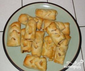 Колбаски в тесте - фото шаг 5