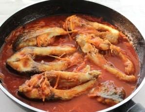 Рыба в маринаде классический рецепт - фото шаг 11