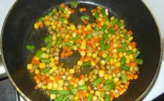 Паэлья овощная - фото шаг 4