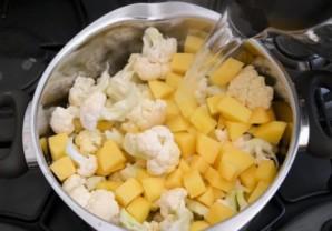 Суп из цветной капусты для ребенка - фото шаг 3
