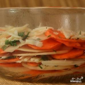Картофельная запеканка с сырным соусом - фото шаг 3