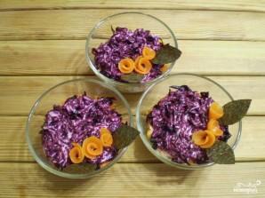 Вегетарианская селедка под шубой с нори - фото шаг 11