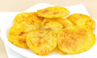 Домашние картофельные чипсы в духовке - фото шаг 4