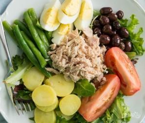 Салат с тунцом и картофелем - фото шаг 8