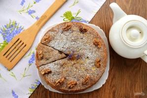 """Яблочный пирог с орехами """"Рассвет"""" - фото шаг 10"""