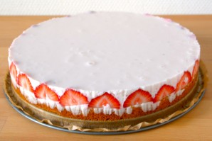 Холодный торт с желатином - фото шаг 8
