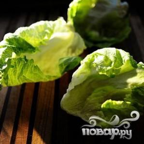 Индейка и салат-латук - фото шаг 18