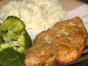 Мясо в тесте на сковороде - фото шаг 10