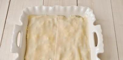 Лазанья с ветчиной и сыром - фото шаг 9