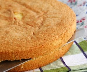 Бисквитный торт с творогом - фото шаг 3