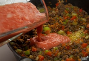 Лазанья с фаршем и овощами - фото шаг 5