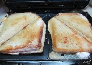 Горячие бутерброды в бутерброднице - фото шаг 3