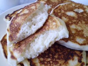 Лепешки с сыром на кефире - фото шаг 8