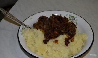 Вегетарианские блинчики с картофельной начинкой - фото шаг 7