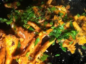 Лисички со спагетти по-итальянски - фото шаг 3