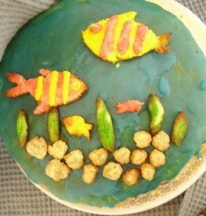 "Торт ""Аквариум"" - фото шаг 5"