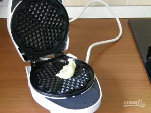 Вафли для электровафельницы сердечками - фото шаг 3