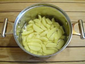 Картошка с солеными огурцами - фото шаг 5