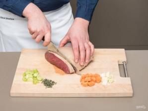 Рагу из говядины с сельдереем - фото шаг 1