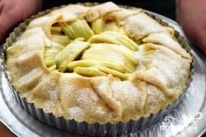 Яблочный пирог с сахарной глазурью - фото шаг 4