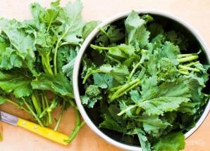 Овощной салат с белой фасолью - фото шаг 1