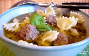 Суп с фрикадельками и овощами - фото шаг 4