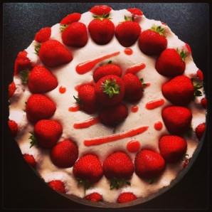 Фруктовый торт без выпечки - фото шаг 6