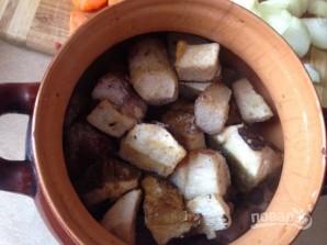 Мясо в горшочках - фото шаг 6