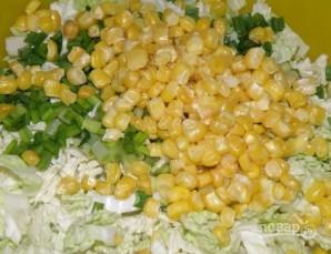 Салат из пекинской капусты с курицей - фото шаг 3