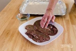 Печень в духовке - фото шаг 3