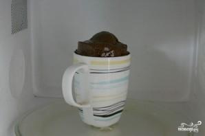 Шоколадный кекс в кружке - фото шаг 3