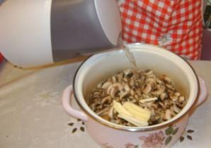 Грибной суп с рисом - фото шаг 3