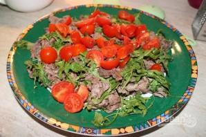 Салат мясной из говядины - фото шаг 6