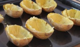 Картофель с брокколи в духовке - фото шаг 6