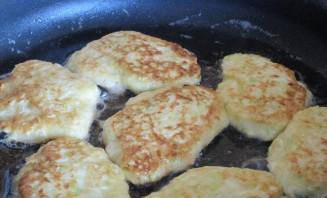 Кабачковые оладьи с сыром - фото шаг 6