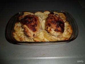Запеченные куриные ножки с картофелем - фото шаг 9