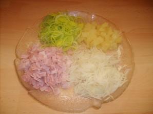 Салат из сельдерея и ветчины - фото шаг 2
