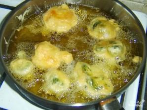 Брокколи в кляре на сковороде - фото шаг 5