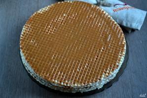 Торт из вафель - фото шаг 3