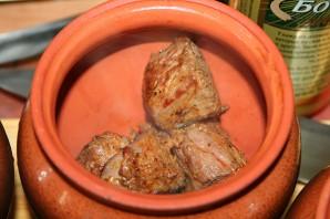 Говядина в горшочке с овощами - фото шаг 3