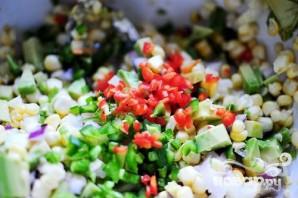 Сальса из свежей кукурузы и авокадо - фото шаг 8