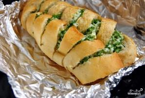 Багет с сыром и чесноком - фото шаг 9
