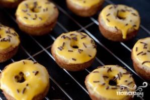 Банановые пончики в глазури - фото шаг 4