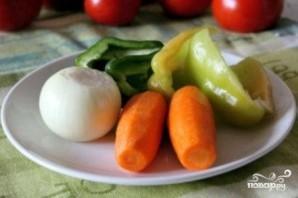 Томатный суп с сухариками - фото шаг 4