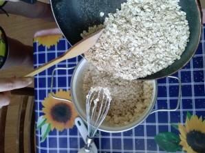 Овсяное печенье с сухофруктами - фото шаг 9